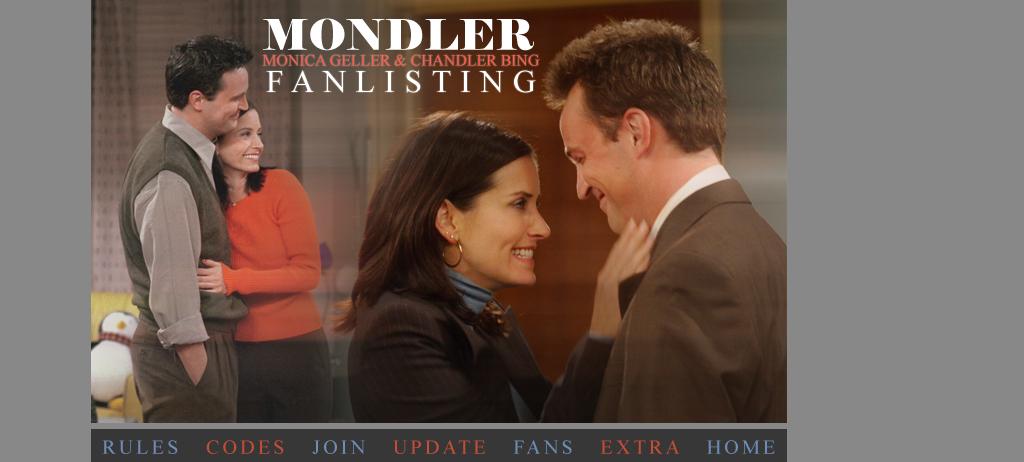 Monica start dating chandler